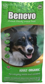 Benevo Organic Vegan Dog Food 15kg