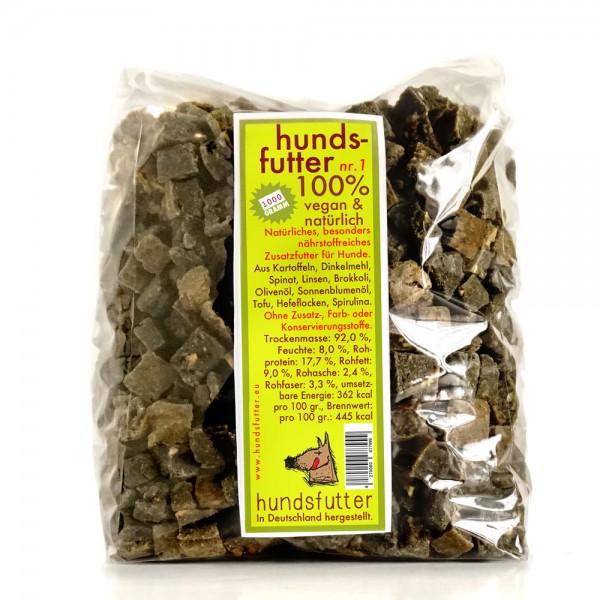 hundsfutter Nr.1 - natürliches Zusatzfutter für Hunde 1kg