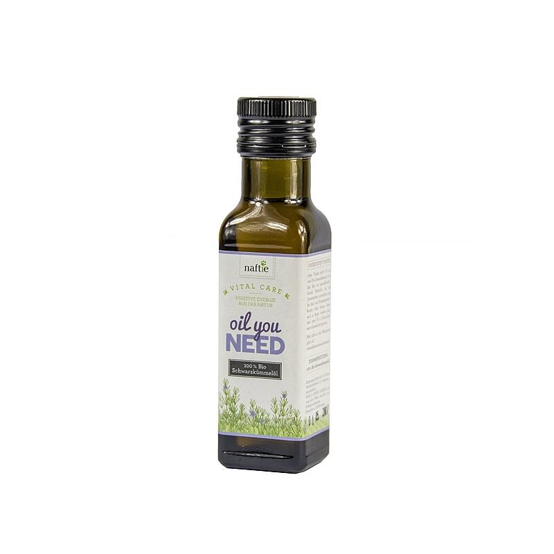 naftie Oil You Need Bio-Schwarzkümmelöl 100ml