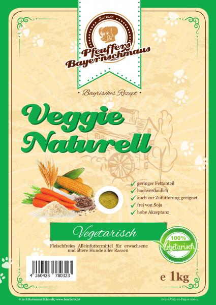 Pfeuffers Veggie Naturell 1kg