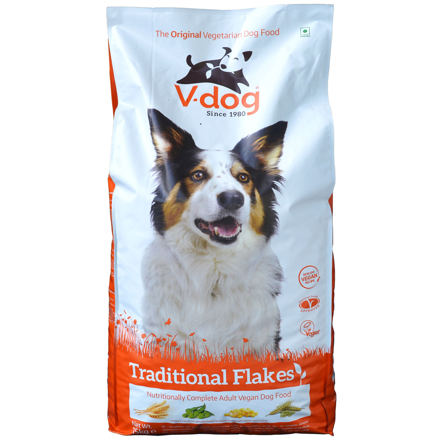 V-dog Traditional Flakes 15kg