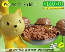 Vegusto Cat Fix 4x100g