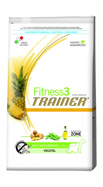 Fitness3 Trainer Adult Medium & Maxi Vegetal 12,5kg