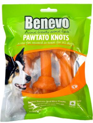 Benevo Pawtato Knots XL 180g - herstellerbedingt nicht lieferbar