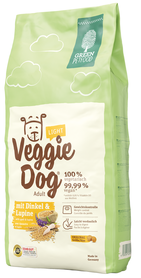 Green Petfood VeggieDog light 15kg