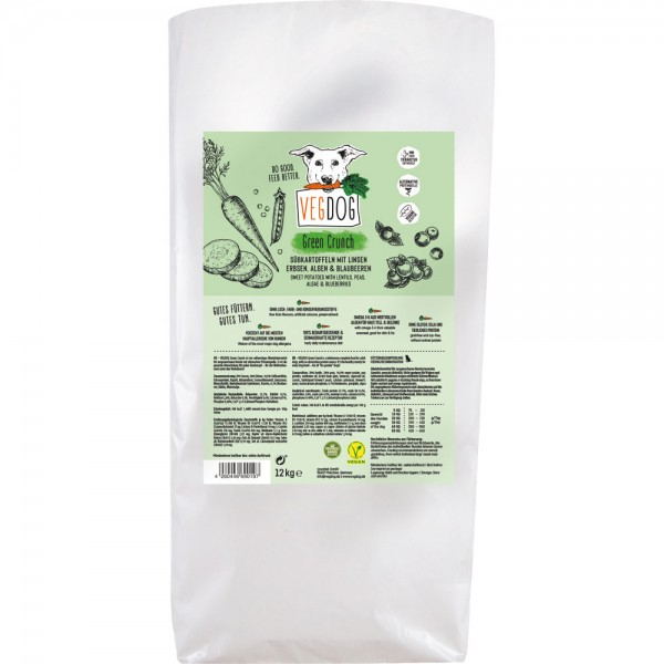 VEGDOG GREEN CRUNCH 12kg