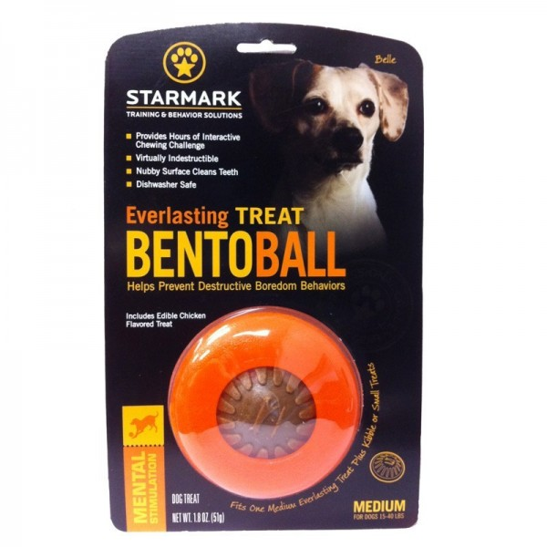StarMark Everlasting Treat Bento Ball Gr. M (ø8,9 cm / mit Füllung)