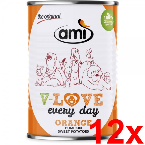 Ami V-LOVE ORANGE 12x400g
