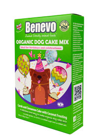 Benevo Bio Vegane Kuchenmischung für Hunde 140g