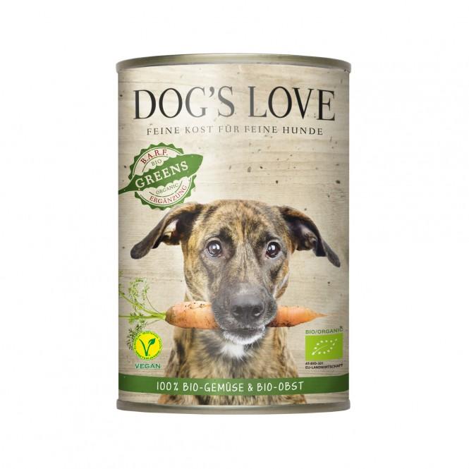 Dog's Love Bio Greens 400g