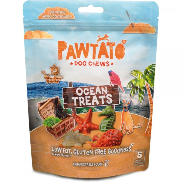 Benevo Pawtato Ocean Treats MEDIUM 140g