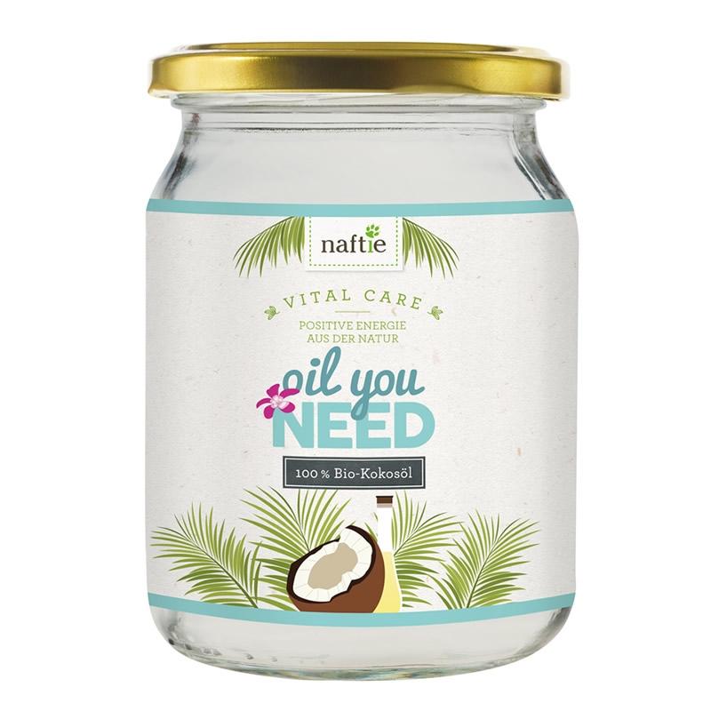 naftie Oil You Need Bio-Kokosöl 450ml