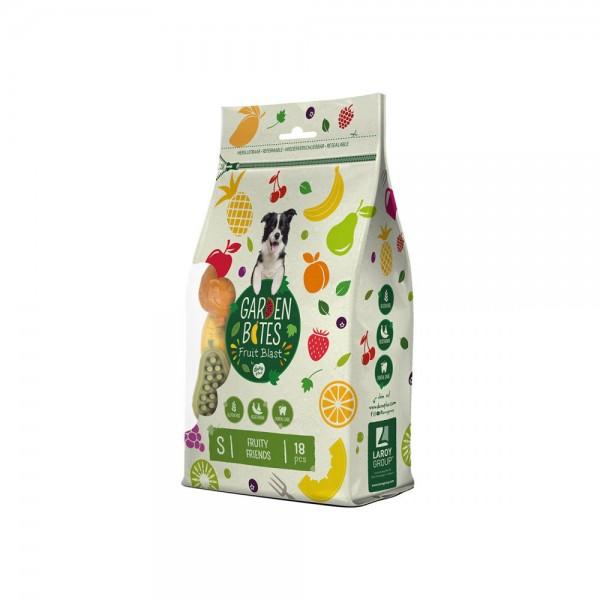 Duvo+ Garden Bites Kausnack Fruity Friends Größe S (ca. 7cm, 15g) 18 Stück/270g
