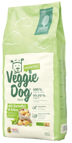 Green Petfood VeggieDog grainfree 900g