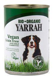 Yarrah Bio Vegan Getreidefrei mit Cranberries 380g