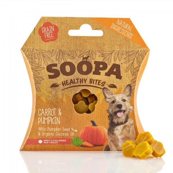 Soopa Carrot & Pumpkin Bites 50g