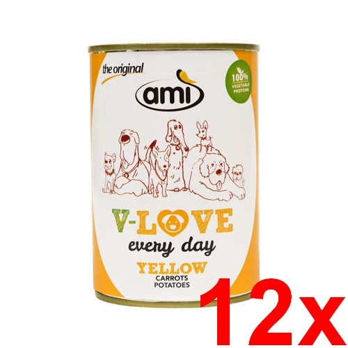 Ami V-LOVE YELLOW 12x400g