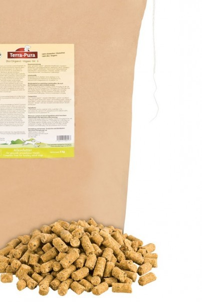 Terra-Pura Vegani Nr.1 für Hunde 1kg (kaltgepresst)