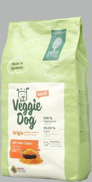 Green Petfood VeggieDog Origin 900g