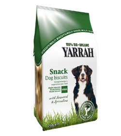 Yarrah Multi Dog Biscuits 250g