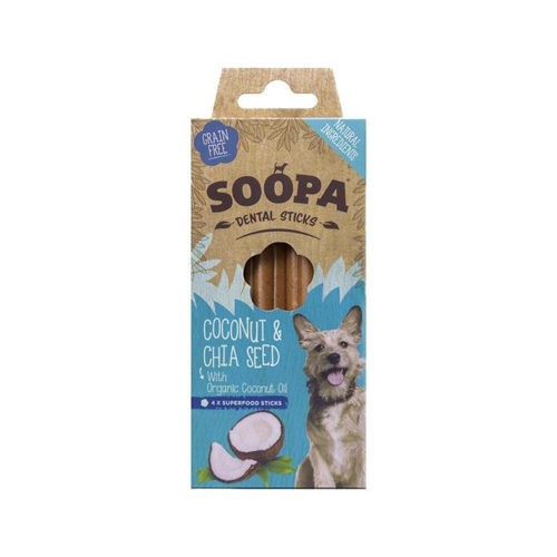 Soopa Coconut & Chia Seed Sticks 100g