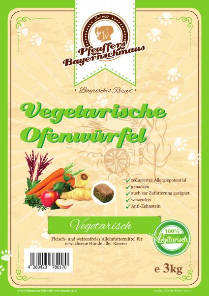 Pfeuffers Vegetarische Ofenwürfel 3kg