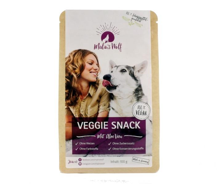 Malin's Wolf Veggie Snack mit Aloe Vera 100g