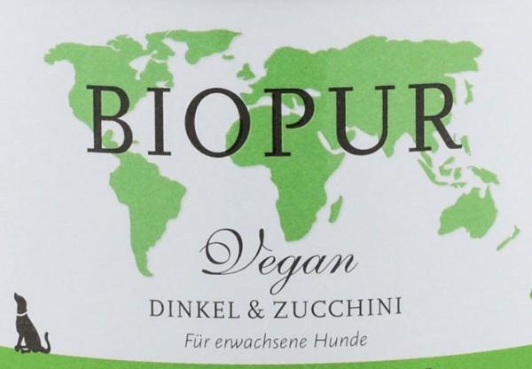 Biopur Dinkel & Zucchini 400g