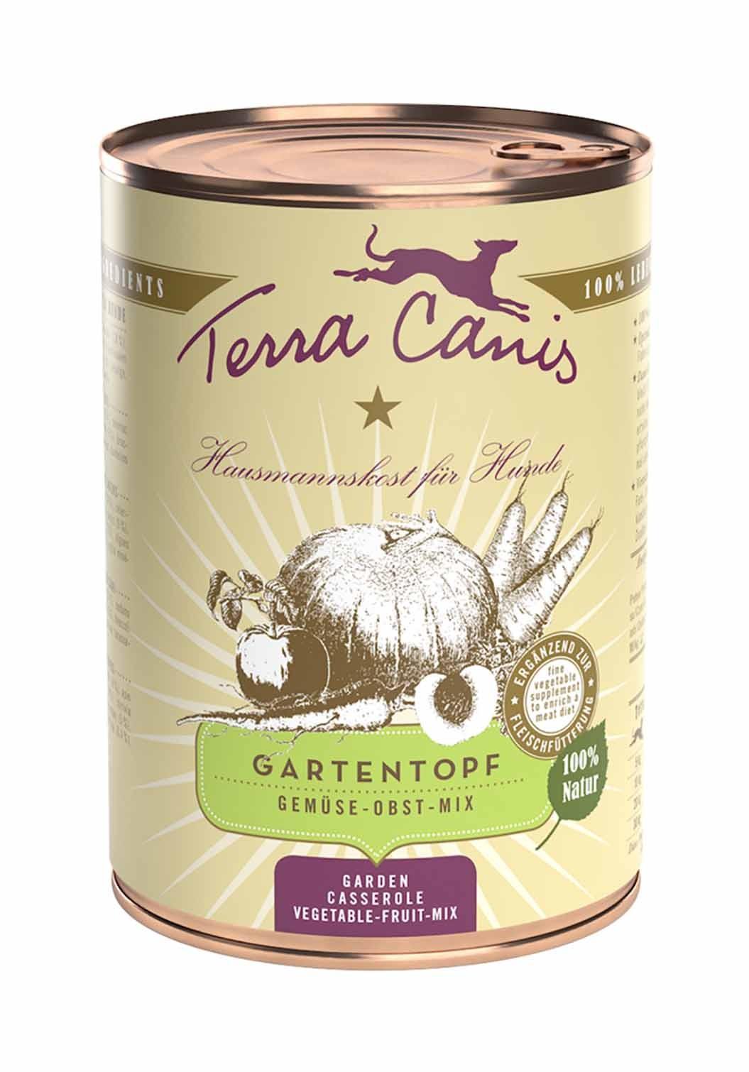 Terra Canis Gartentopf Gemüse-Obst-Mix 400g