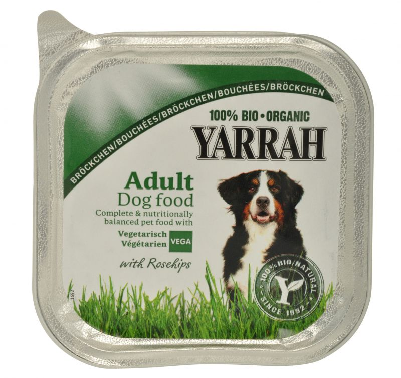 Yarrah Bio Vegetarische Bröckchen mit Gemüse 14x150g