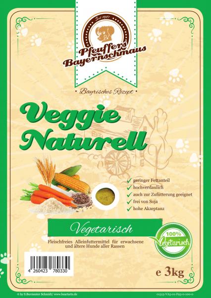 Pfeuffers Veggie Naturell 3kg
