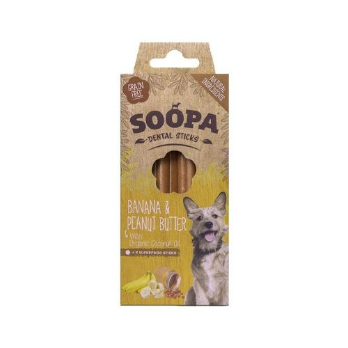 Soopa Banana & Peanut Butter Sticks 100g