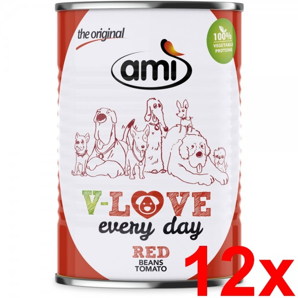 Ami V-LOVE RED 12x400g