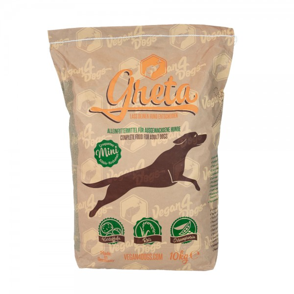 """Greta"" Hundenahrung 10kg Small Kibble"