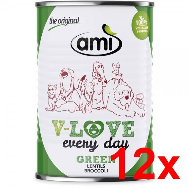 Ami V-LOVE GREEN 12x400g