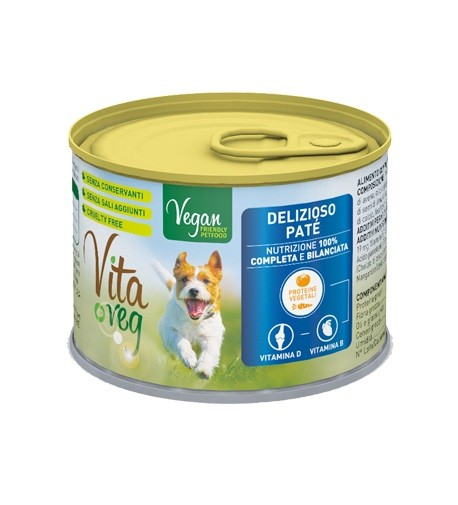 VitaVeg Vegan Dog Food Pate 185g