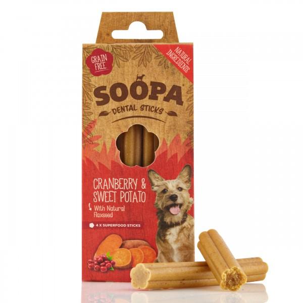 Soopa Cranberry & Sweet Potato Sticks 100g