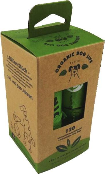 Organic Dog Life Hundekotbeutel (kompostierbar)