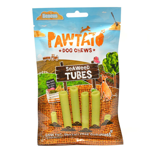Benevo Pawtato Tubes Seaweed 90g